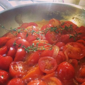Tomato sauce on the go